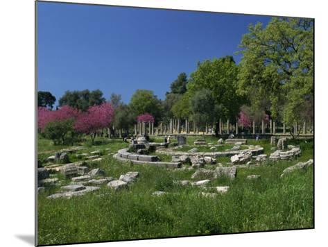Archaeological Site of Olympia, Birthplace of the First Olympic Games in 776 BC, Greece-Gavin Hellier-Mounted Photographic Print