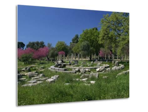Archaeological Site of Olympia, Birthplace of the First Olympic Games in 776 BC, Greece-Gavin Hellier-Metal Print