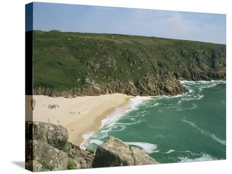 Porthcurno Cove, Cornwall, England, United Kingdom, Europe-Hunter David-Stretched Canvas Print