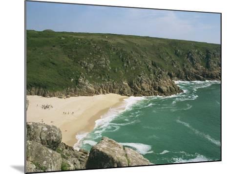 Porthcurno Cove, Cornwall, England, United Kingdom, Europe-Hunter David-Mounted Photographic Print