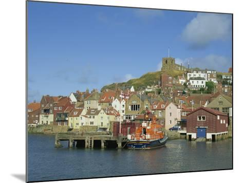 Lifeboat, Harbour and Church, Whitby, North Yorkshire, England, United Kingdom, Europe-Hunter David-Mounted Photographic Print
