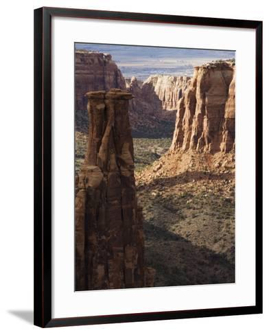 Great Colorado Plateau, Colorado National Monument, Colorado, USA-Kober Christian-Framed Art Print