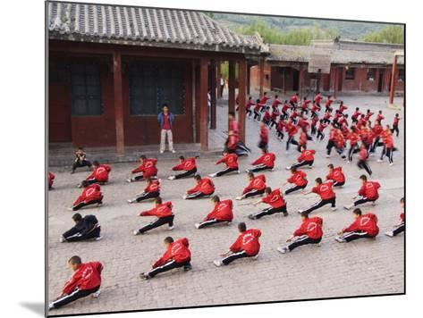 Shaolin Monastery, Shaolin, Birthplace of Kung Fu Martial Art, Henan Province, China-Kober Christian-Mounted Photographic Print