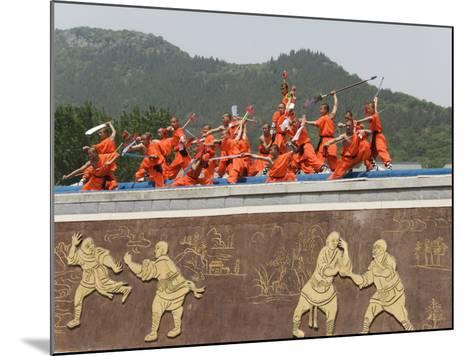 Shaolin Temple, Shaolin, Birthplace of Kung Fu Martial Art, Henan Province, China-Kober Christian-Mounted Photographic Print