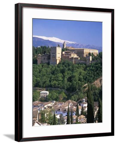 Alhambra Palace, UNESCO World Heritage Site, Granada, Andalucia, Spain, Europe-Gavin Hellier-Framed Art Print