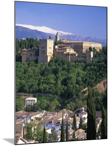 Alhambra Palace, UNESCO World Heritage Site, Granada, Andalucia, Spain, Europe-Gavin Hellier-Mounted Photographic Print