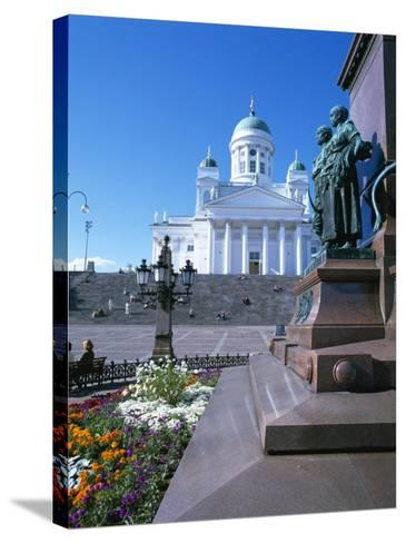 Lutheran Christian Cathedral, Helsinki, Finland, Scandinavia, Europe-Gavin Hellier-Stretched Canvas Print