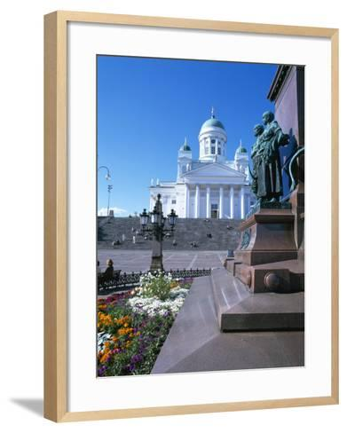 Lutheran Christian Cathedral, Helsinki, Finland, Scandinavia, Europe-Gavin Hellier-Framed Art Print