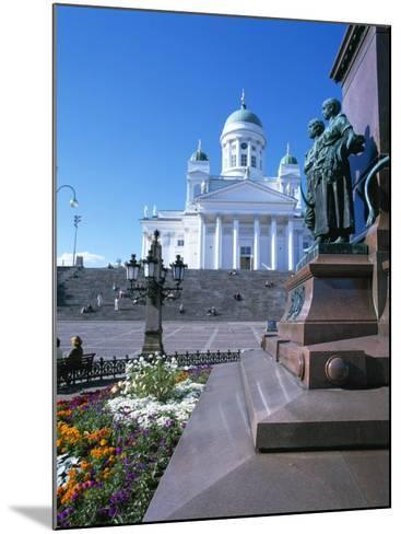 Lutheran Christian Cathedral, Helsinki, Finland, Scandinavia, Europe-Gavin Hellier-Mounted Photographic Print