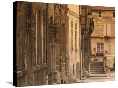Buildings in the Medieval Haut-Ville in Bar-Le-Duc, Lorraine, France, Europe-David Hughes-Stretched Canvas Print
