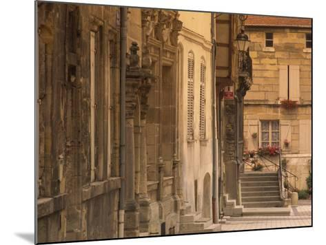 Buildings in the Medieval Haut-Ville in Bar-Le-Duc, Lorraine, France, Europe-David Hughes-Mounted Photographic Print