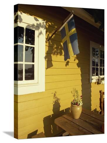 Local Architecture, Kalmar, Sweden, Scandinavia, Europe-Jenner Michael-Stretched Canvas Print