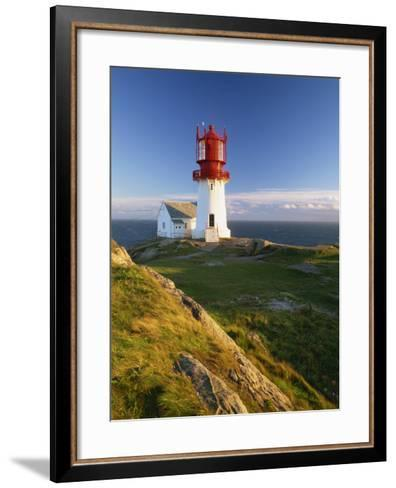 Lindesnes Fyr Lighthouse, Southernmost Point in Norway, Scandinavia, Europe-Gavin Hellier-Framed Art Print