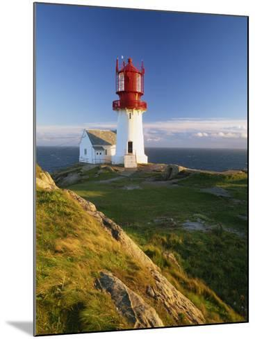 Lindesnes Fyr Lighthouse, Southernmost Point in Norway, Scandinavia, Europe-Gavin Hellier-Mounted Photographic Print