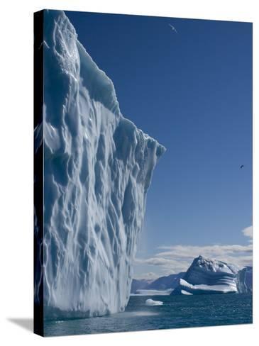 Iceberg, Ummannaq, Greenland, Polar Regions-Milse Thorsten-Stretched Canvas Print