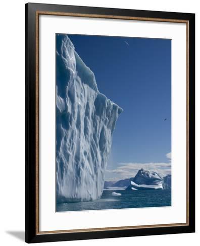 Iceberg, Ummannaq, Greenland, Polar Regions-Milse Thorsten-Framed Art Print