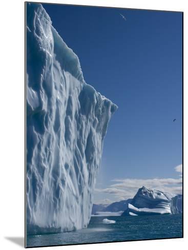 Iceberg, Ummannaq, Greenland, Polar Regions-Milse Thorsten-Mounted Photographic Print