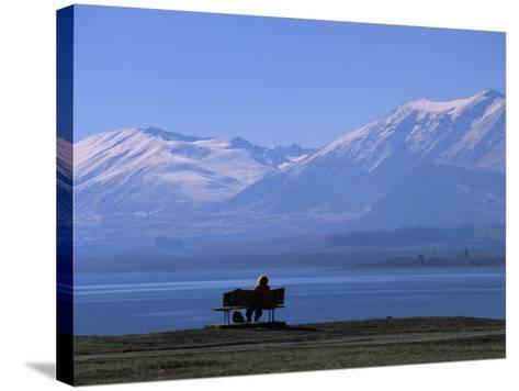 Lake Tekapo, Mackenzie Basin, South Island, New Zealand, Pacific-Mcconnell Andrew-Stretched Canvas Print