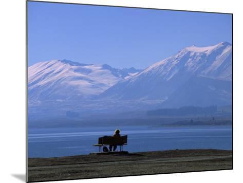 Lake Tekapo, Mackenzie Basin, South Island, New Zealand, Pacific-Mcconnell Andrew-Mounted Photographic Print