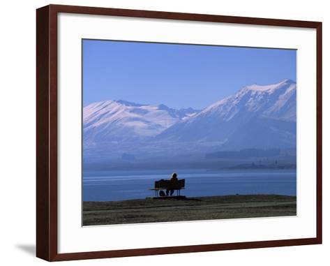 Lake Tekapo, Mackenzie Basin, South Island, New Zealand, Pacific-Mcconnell Andrew-Framed Art Print