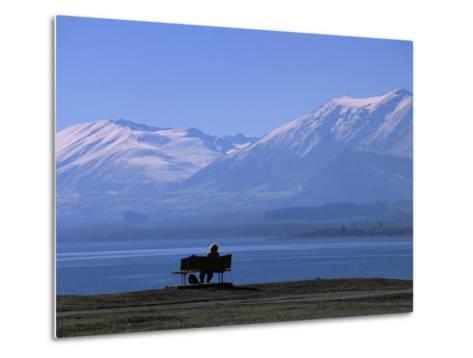 Lake Tekapo, Mackenzie Basin, South Island, New Zealand, Pacific-Mcconnell Andrew-Metal Print