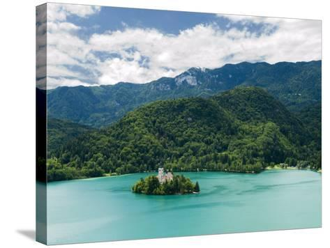 Lake Bled, Slovenia, Balkans, Europe-Lawrence Graham-Stretched Canvas Print