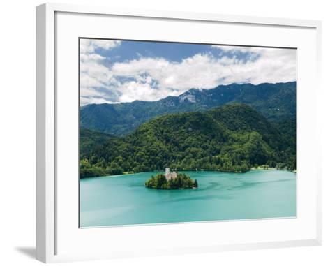 Lake Bled, Slovenia, Balkans, Europe-Lawrence Graham-Framed Art Print