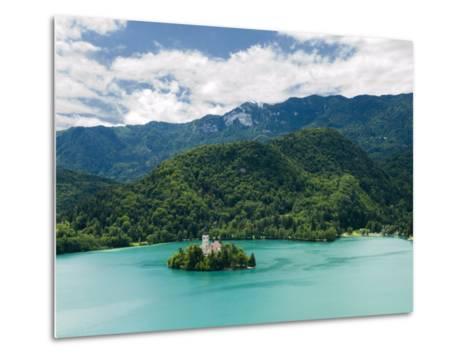 Lake Bled, Slovenia, Balkans, Europe-Lawrence Graham-Metal Print