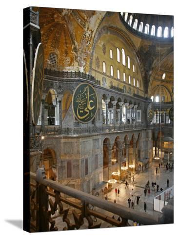 Haghia Sophia, UNESCO World Heritage Site, Istanbul, Turkey, Europe-Levy Yadid-Stretched Canvas Print