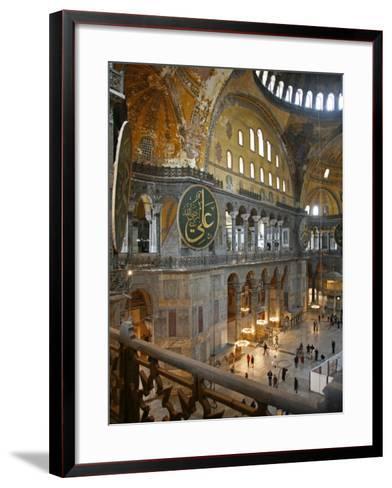 Haghia Sophia, UNESCO World Heritage Site, Istanbul, Turkey, Europe-Levy Yadid-Framed Art Print