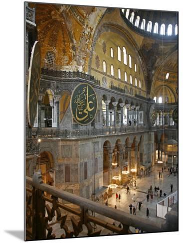 Haghia Sophia, UNESCO World Heritage Site, Istanbul, Turkey, Europe-Levy Yadid-Mounted Photographic Print