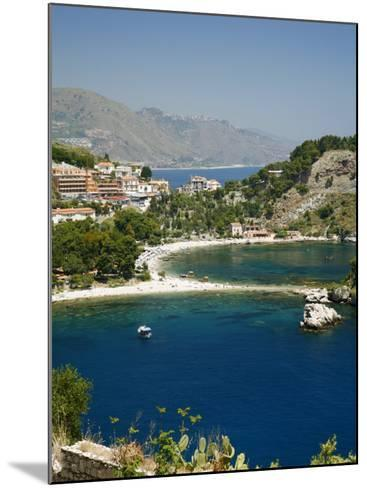 Isola Bella Island and Beach, Taormina, Sicliy, Italy, Mediterranean, Europe-Levy Yadid-Mounted Photographic Print