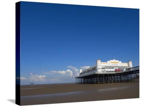 Grand Pier, Weston-Super-Mare, Somerset, England, United Kingdom, Europe-Lawrence Graham-Stretched Canvas Print