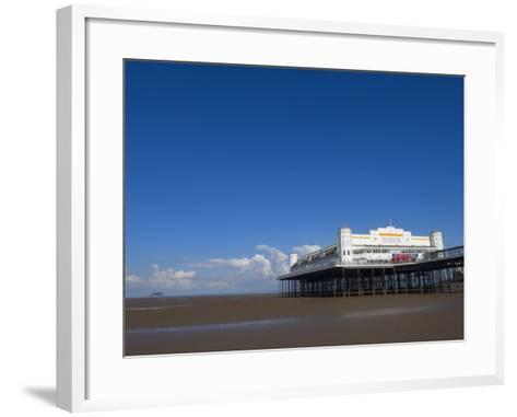 Grand Pier, Weston-Super-Mare, Somerset, England, United Kingdom, Europe-Lawrence Graham-Framed Art Print
