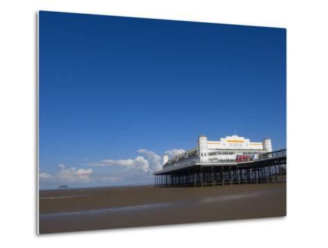Grand Pier, Weston-Super-Mare, Somerset, England, United Kingdom, Europe-Lawrence Graham-Metal Print