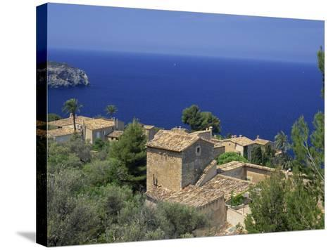 Roofs of Luc Alcari, Mallorca, Balearic Islands, Spain, Mediterranean, Europe-Miller John-Stretched Canvas Print