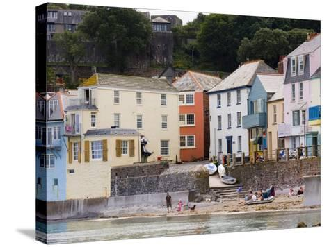 Kingsand, Torpoint, Cornwall, England, United Kingdom, Europe-Lawrence Graham-Stretched Canvas Print