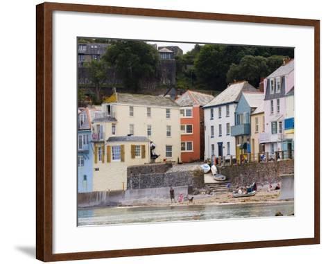 Kingsand, Torpoint, Cornwall, England, United Kingdom, Europe-Lawrence Graham-Framed Art Print