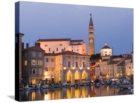 Piran, Slovenia, Balkans, Europe-Lawrence Graham-Stretched Canvas Print