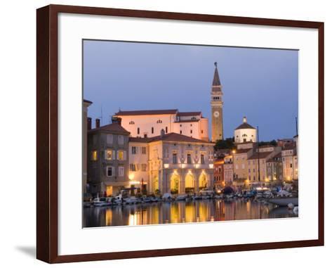 Piran, Slovenia, Balkans, Europe-Lawrence Graham-Framed Art Print