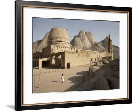 Khatmiyah Mosque at the Base of Taka Mountain, Kassala, Sudan, Africa-Mcconnell Andrew-Framed Art Print
