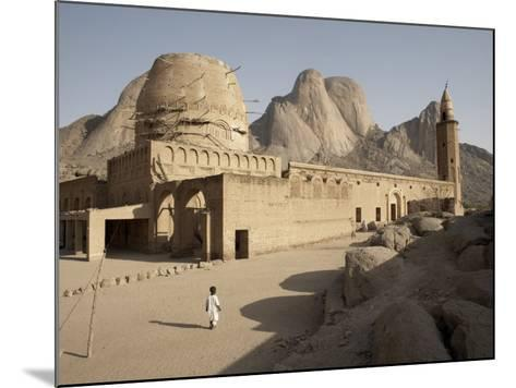 Khatmiyah Mosque at the Base of Taka Mountain, Kassala, Sudan, Africa-Mcconnell Andrew-Mounted Photographic Print