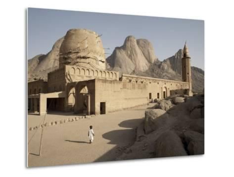 Khatmiyah Mosque at the Base of Taka Mountain, Kassala, Sudan, Africa-Mcconnell Andrew-Metal Print