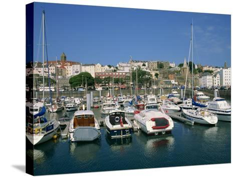 Marina at St. Peter Port, Guernsey, Channel Islands, United Kingdom, Europe-Lightfoot Jeremy-Stretched Canvas Print