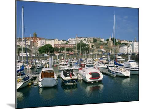 Marina at St. Peter Port, Guernsey, Channel Islands, United Kingdom, Europe-Lightfoot Jeremy-Mounted Photographic Print