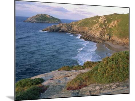 Rocky Coastline and Beach Near Punt De Moras on the North Coast, Rias Altas in Galicia, Spain-Maxwell Duncan-Mounted Photographic Print
