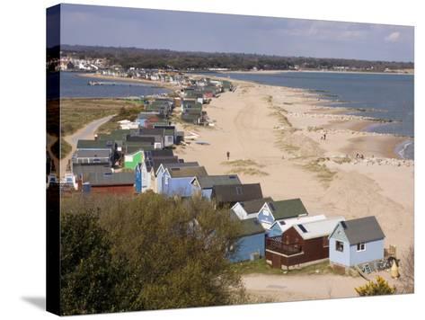 Mudeford Spit or Sandbank, Christchurch Harbour, Dorset, England, United Kingdom, Europe-Rainford Roy-Stretched Canvas Print