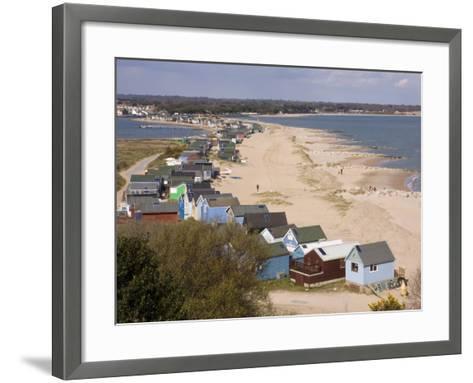 Mudeford Spit or Sandbank, Christchurch Harbour, Dorset, England, United Kingdom, Europe-Rainford Roy-Framed Art Print