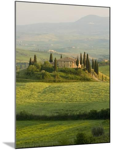 Country House, Il Belvedere, San Quirico D'Orcia, Val D'Orcia, Siena Province, Tuscany, Italy-Pitamitz Sergio-Mounted Photographic Print