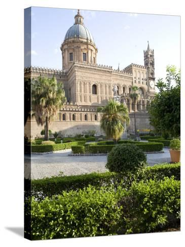 Cathedral Gardens, Palermo, Sicily, Italy, Europe-Olivieri Oliviero-Stretched Canvas Print